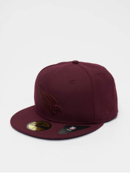 New Era Snapback Caps NFL Arizona Cardinals Poly Tone 59Fifty czerwony
