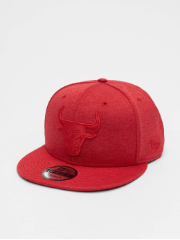 New Era Snapback Caps Shadow Tech Chicago Bulls czerwony