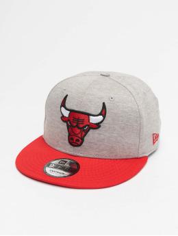 New Era Snapback Caps NBA Chicago Bulls Jersey Essential 9Fifty grå