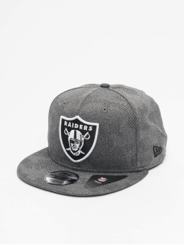 New Era Snapback Caps NFL Oakland Raiders Engineered Plus 9Fifty harmaa
