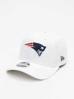 New Era Snapback Caps NFL New England Patriots White Base hvid