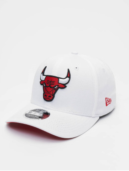 New Era Snapback Caps NBA Chicago Bulls Stretch Snap 9fifty hvit
