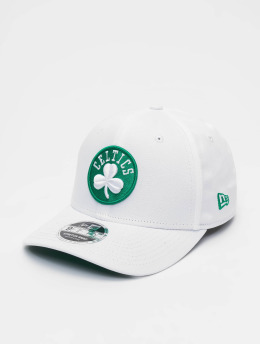 New Era Snapback Caps NBA Boston Celtics Stretch Snap 9fifty hvit