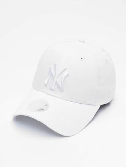 New Era Snapback Caps MLB NY Yankees Eshortsleeve 9forty hvit