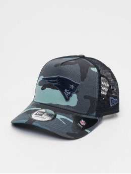 New Era Snapback Caps NFL Camo Essential Trucker New England Patriots kamuflasje