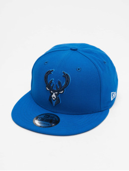 New Era Snapback Caps NBA20 Milwaukee Bucks City Alt EM 9Fifty  modrý