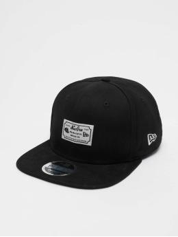 New Era Snapback Caps Script Patch 9fifty musta