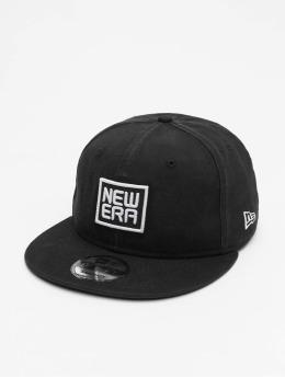 New Era Snapback Caps Script 9Fifty musta