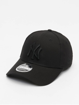 New Era Snapback Caps MLB New York Yankees Black On Black 9Forty musta