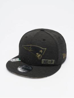 New Era Snapback Caps NFL 20 STS EM 9Fifty New England Patriots musta