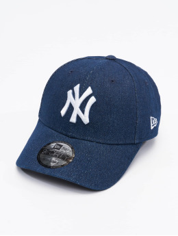 New Era Snapback Caps MLB New York Yankees Mens Denim 9Forty  niebieski