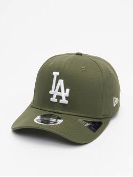 New Era Snapback Caps MLB LA Dodgers Tonal Stretch 9Fifty oliven