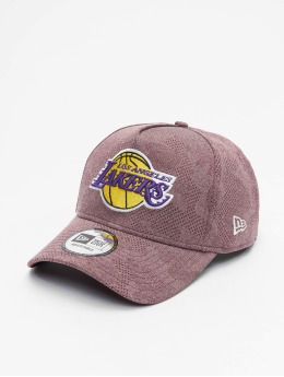 New Era Snapback Caps NBA LA Lakers Engineered Plus Aframe punainen