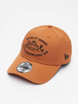 New Era Snapback Caps NE Camp 9Forty ruskea