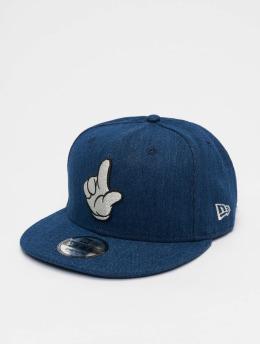 New Era Snapback Caps Disney Mickey Mouse Street Mickey Denim 9fifty sininen