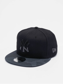 New Era Snapback Caps MLB Camo Essential NY Yankees 9Fifty svart