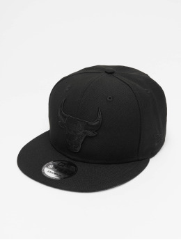 New Era Snapback Caps NBA Chicago Bulls svart