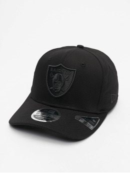 New Era Snapback Caps NFL Oakland Raiders Tonal Black 950 svart