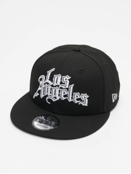 New Era Snapback Caps NBA20 Los Angeles Clippers City Off EM 9Fifty svart