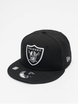 New Era Snapback Caps NFL Las Vegas Raiders Sideline Road 9Fifty svart