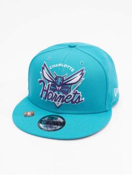 New Era Snapback Caps NBA Charlotte Hornets NBA21 Tip Off 9Fifty tyrkysový