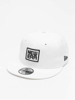 New Era Snapback Caps Script 9Fifty valkoinen