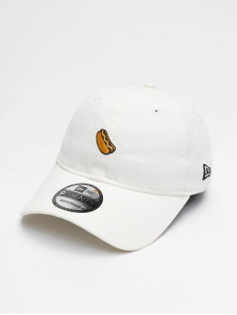 New Era Snapback Caps Brushed Icons 9Twenty valkoinen