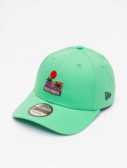 New Era Snapback Caps Summer 9Forty vihreä