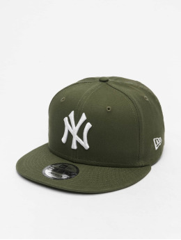 New Era Snapback Caps MLB NY Yankees Essential 9Fifty zielony
