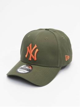 New Era Snapback MLB New York Yankees League Essential 9Forty olivová