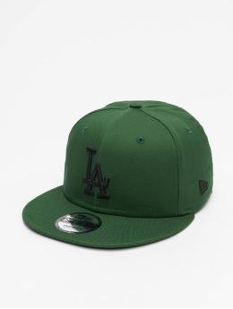 New Era Snapback MLB LA Dodgers League Essential 9Fifty zelená