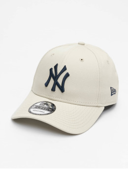 New Era Snapbackkeps MLB NY Yankees League Essential 9Forty  beige