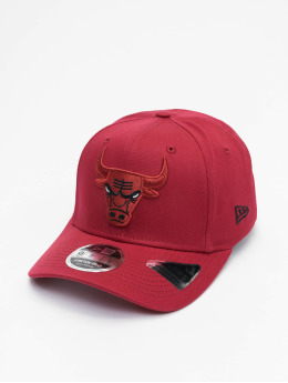 New Era Snapbackkeps NBA Chicago Bulls League Essential 9Fifty Stretch röd