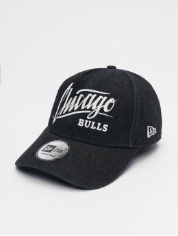 New Era Snapbackkeps NBA Chicago Bulls Denim A-Frame Adjustable svart