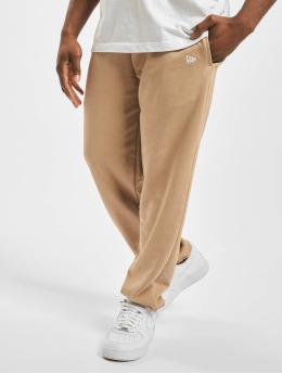 New Era Spodnie do joggingu Essential  bezowy