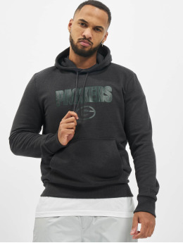 New Era Sudadera NFL Green Bay Packers Pull Over  gris