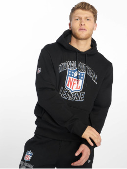 New Era Sudadera NFL Gen Wordmark negro