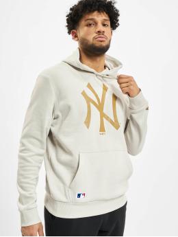 New Era Sweat capuche MLB NY Yankees Seasonal Team Logo beige