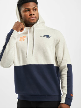 New Era Sweat capuche NFL New England Patriots Colour Block beige