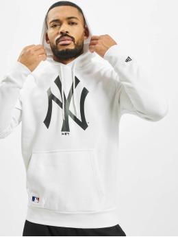 New Era Sweat capuche MLB NY Yankees Seasonal Team Logo blanc