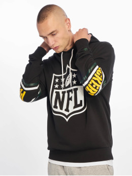 New Era Sweat capuche NFL Green Bay Packers Badge noir