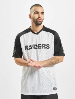 New Era T-paidat NFL Oakland Raiders Stripe Oversized valkoinen