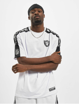 New Era T-paidat NFL Oakland Raiders Oversized Shoulder Print valkoinen