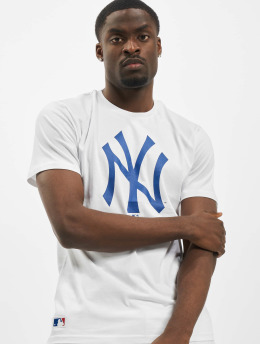 New Era T-paidat NY Yankees Primry Contrast valkoinen