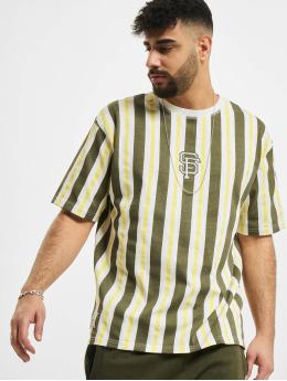 New Era T-paidat MLB San Francisco Giants Oversized Stripe valkoinen
