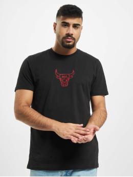 New Era T-Shirt NBA Chain Stitch Chicago Bulls black