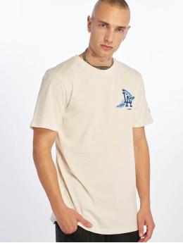 New Era T-Shirt MLB Los Angeles Dodgers Island Logo blanc
