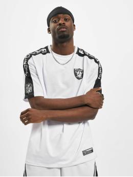 New Era T-Shirt NFL Oakland Raiders Oversized Shoulder Print blanc