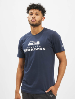 New Era T-Shirt NFL Seattle Seahawks Fan blau