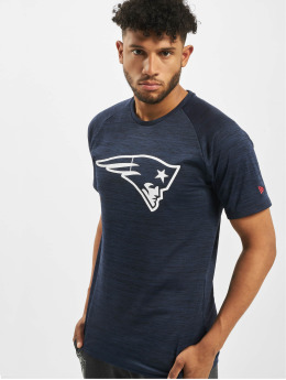 New Era T-Shirt NFL New England Patriots Engineered Raglan blau